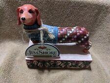 Heartwood Creek Jim Shore Longfellow Dachshund Dog Figurine 2005 Statue 4004851