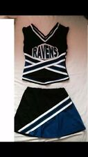 Womens Ladies Cheerleader Costume - Full Costume. Size UK 8-10