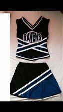 Da Donna con Costume da Cheerleader-FULL costume. Taglia UK 8-10