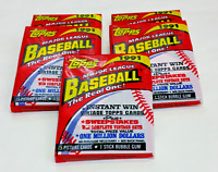 NEW 1991 TOPPS MAJOR LEAGUE BASEBALL CARDS UNOPENED Five (5) PACKS