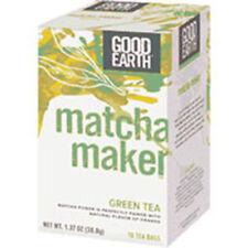 Matcha Maker Green Tea 18 Tea bags by Good Earth Teas