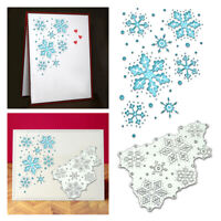 Christmas Snowflake Metal Cutting Die Embossed Stencil Craft Greet Card Making