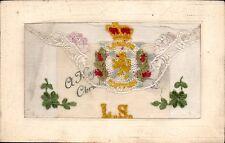 WW1 Regimental Silk. London Scottish. Flap Design.