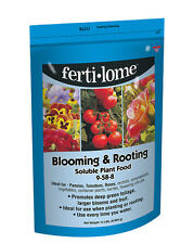 Fertilome Blooming & Rooting Plant Fertilizer food 15 lb water soluble 9-58-8