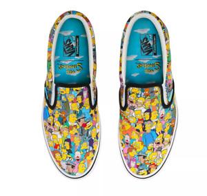 Vans x The Simpsons // Comfycush Slip On (Springfield) #497548 (5W) (3.5M)