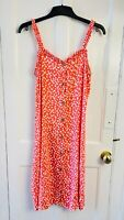 NEXT Dalmatian Spots Peach Strap Shift Mini Dress BNWT RRP£22 UK 6 EUR 34