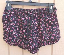 XXI SIZE MEDIUM FLORAL SHORTS JUNIORS LOUNGE SHORTS