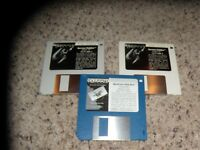 "Falcon & Falcon Mission Disk Games for the Atari ST on 3.5"" disks"