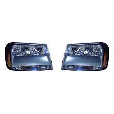 Fits 2006-2009 Chevrolet Trailblazer LT Model Headlight Pair NSF GM2502304