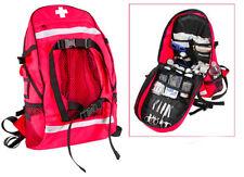 EMT EMS Paramedic Medic Medical Rescue Response RED Trauma Backpack Pack Bag Kit