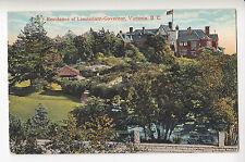 Lieutenant-Governor's Residence VICTORIA BC Canada 1915-30 Coast Postcard 63604