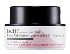 [Belif] First Aid Overnight Anti-Wrinkle Firming Mask Facial Korea 50ml Nature