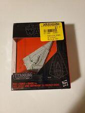Star Wars Titanium Black Series First Order Star Destroyer