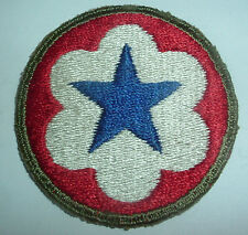 AMERICAN PATCHES-ORIGINAL WW2 US ARMY SERVICES FORCES OD BORDER GREEN BACK