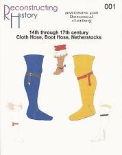 Schnittmuster Reconstructing History RH 001 Paper pattern Cloth Hose