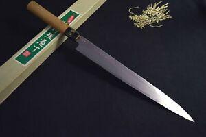 Japanese Kitchen / Chef knives *Mint* Kisaburo Hontanren Yanagiba 260mm 1283