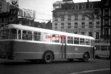 PHOTO  BELGIUM TRAM 1960 - BRUXELLES-BRUSSEL PLACE ROGIER: SNCB BUS