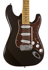 G&L Tribute Legacy Solidbody Electric Guitar Maple Fingerboard Gloss Black