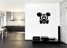 ik241 Wall Decal Sticker Decor Mickey Mouse raspiratore postapokalipsis