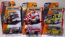 Matchbox Wildland Fire Ladder Truck Engine Lot Pierce Dash Flame Tamer Blaze