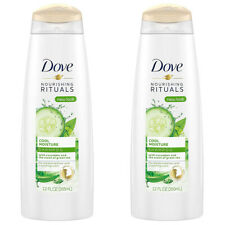 Pack of (2) New Dove Nutritive Solutions Shampoo, Cool Moisture 12 oz