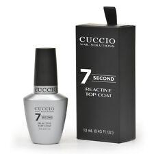 Cuccio Nail Solutions  Super 7 Second Reactive Top Coat  0.43oz / 13ml  #6279