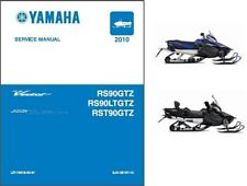 2010-2011 Yamaha RS Vector / Venture ( RS90 ) Snowmobile Service Manual on a CD