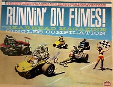 Runnin On Fumes Rare Zingers Promo Poster Hot Rods Garage Punk Gearhead Magazine