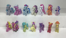 Lot of 14 MLP My Little Pony Mini Figures PVC 2 Inch Hasbro