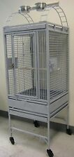 New Lahaina Lanai Open Playtop Bird Parrot Cage with Seed Guard Rolling Stand962