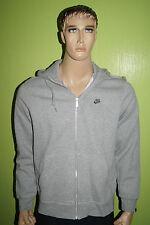 "Nike Zip Hoodie Sweat Shirt Gr:L grau Kapuze ""AGS goes IBIZZA"" Hoody Rückenprint"