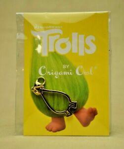 Origami Owl - Dreamworks Trolls Fuzzbert Gold Personality Dangle #DG4080 (New)