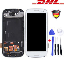 Für Samsung Galaxy S3 i9300 i9305 Touch Screen + LCD Bildschirm Display Weiß #DE