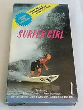 Surfer Girl 1994 Vhs Video Surfing in Fiji Zamba Burridge Botha Cooper Beacham