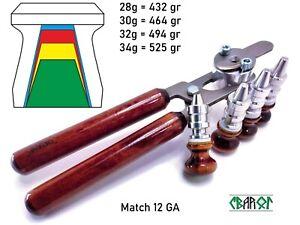 12 GA Sabot Slug Bullet Casting Mold Svarog Match Full complete set New