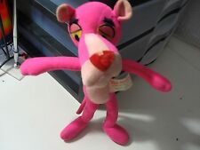 "10"" plush Pink Panther doll from 1964, dirty/stained condition + nose chip"