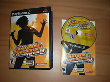 Karaoke Revolution Volume 3 Playstation game 2 Ps2 Complete