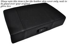 BLACK STITCH FITS TOYOTA MR2 MK1 AW11 84-90 GLOVE BOX LID LTHR COVER GLUE NEEDED