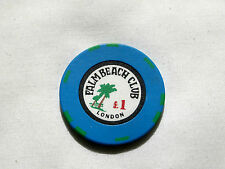 Palm Beach Club, £1 chip.