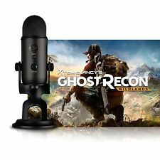 Blue Microphones Yeti Blackout USB Microphone with Tom Clancy's Ghost Recon