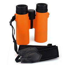 SVBONY SV21 10x42 Orange HD Multi-Coated Binoculars Compact Folding+Carrying Bag