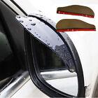 2PCS Car Mirror Anti Rain/Snow Black Shade Rear View Cover Weatherstrip Tool CA