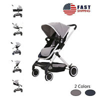 Lightwight Foldable Baby Kids Travel Stroller Infant Buggy Pushchair 2 Colors