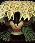 Print - Flower Seller by Diego Rivera