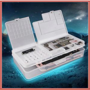 10pcs/lot Mobile Phone Repair Tool Box Storage Box for iPhone Motherboard Cas