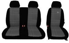 Renault Trafic SL27DCI-Van Fundas De Asiento Gris Heavy Duty Impermeable 2-1
