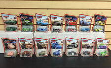 Set of 14 ~ Disney Pixar Die Cast Cars CHICK KING NITROADE RAMONE McQUEEN HAMM