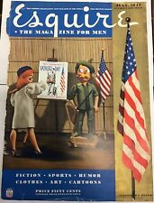 Esquire Magazine United We Stand Cover Only July 1942