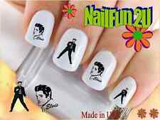 "RTG Set#538 CHARACTER ""Elvis 2 Jailhouse"" WaterSlide Decals Nail Art Transfers"