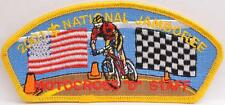 BSA 2001 National Jamboree Motocross D Staff CSP JSP Boy Scout Jambo Patch